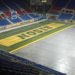 Here comes the rug. #MagicCarpet @AstroTurfUSA http://t.co/KQ0R4CU9W7