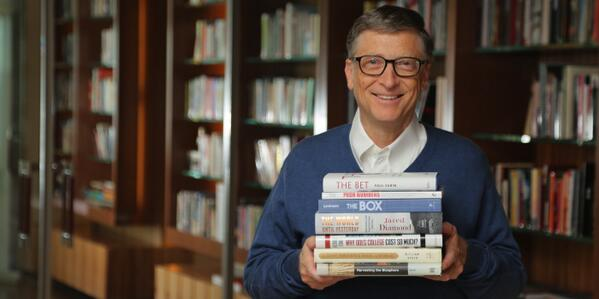 Bill Gates (@BillGates): The 7 best books I read this year: http://t.co/rlyBTff54r #greatreads http://t.co/M4nW9WMHKk