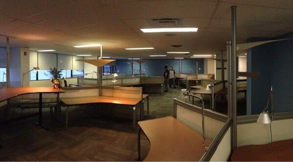 Moving day tomorrow for our new-IP team. A whole new fictional universe will be built right here. http://t.co/pDZtfyj3IP