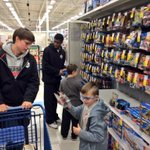 Louisville players & Ladybirds took 25 kids on a holiday shopping spree today, courtesy Meijers & Daniel Pitino Fdn http://t.co/1Ohsiai5pI