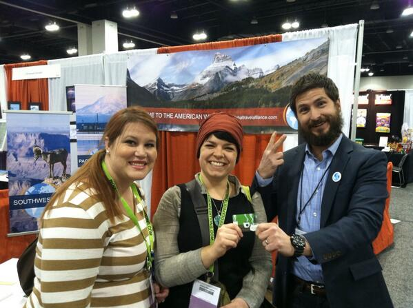 RT @paul_belanger: @G_ToursTravel has their first winners @NSTA #nsta13 http://t.co/NXtL4EecR5