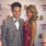 RT @JoeyEssex_: What a great night at #BritishComedyAwards with my ame @amywillerton http://t.co/8cP1Ox6Psi