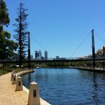 Another beautiful day in East Perth #NoFilters #Perth #EvenTheCricketCantRuinThis http://t.co/bBIdJygDRt