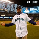 """@Mariners: Photos from Robinson Canos first day with the #Mariners: http://t.co/ezGzGpTpAq #HelloCano http://t.co/9YmUPxpdzu"""