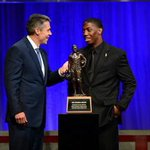 RT @jimthorpeaward: Darqueze Dennard wins the 2013 Jim Thorpe Award. #NCFAA, #thorpeaward http://t.co/Q4G8sYVmso http://t.co/voFT1sy6GQ