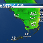 The temperature has dropped below 70F in #Miami for the first time since December 4th. #flwx http://t.co/2pFOh7aq06