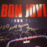 #BonJovi wishes #PerthArena a happy 100th show! #TheFinal7 #Perth http://t.co/GnVgFljVxI