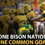 Less than two days until Bison Pride is on national television for the @NCAA_FCS Quarterfinals on @espn. Gold Rush! http://t.co/qma5V46Cbf