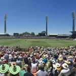 RT @CricketAus: A packed WACA and #Ashes cricket... Great atmosphere in the sunshine. #uniteAus http://t.co/vsjEJAa5HL