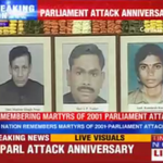 On the anniversary of the 2001 Parliament attack, nation pays homage to the martyrs of the attack #BreakingNow http://t.co/DFbLNOtpKj