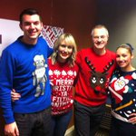 ITS CHRISTMAS JUMPER DAY! Top team @markdennison @jodilaw @mrabutler all jumpered up @bbcnottingham http://t.co/fMrIRqWmU2