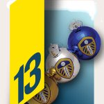 Its #WhitesChristmas day 13! Open the door, follow and RT by 5pm and you could win yourself some #LUFC baubles! http://t.co/DO3aZxHIea