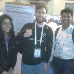 Look who is standin with Rahul n I - the abapfreak himself @thomas_jung #SapTechEd ! http://t.co/di5XtNjaTB