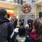 RT @VisitSaintJohn: @mylesdavid live right now in @BSQCentre #SingingForSupper http://t.co/vtBQyb0FPU