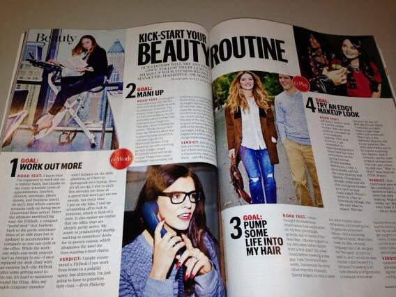 Spotted: @marieclaire  #beauty team & their honorable 2014 resolutions! We'll spin w/u anytime @erinflaherty http://t.co/cJ1cYl5bXk
