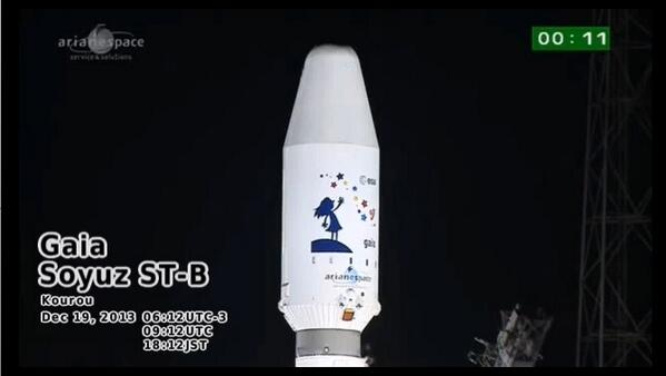 日本の二次元の優位性が脅かされている・・・ RT @wtwt17: 一昨日打ち上げられたソユーズロケットのフェアリングがかわいい( ゚д゚ ) http://t.co/iEzNbcQ3zI