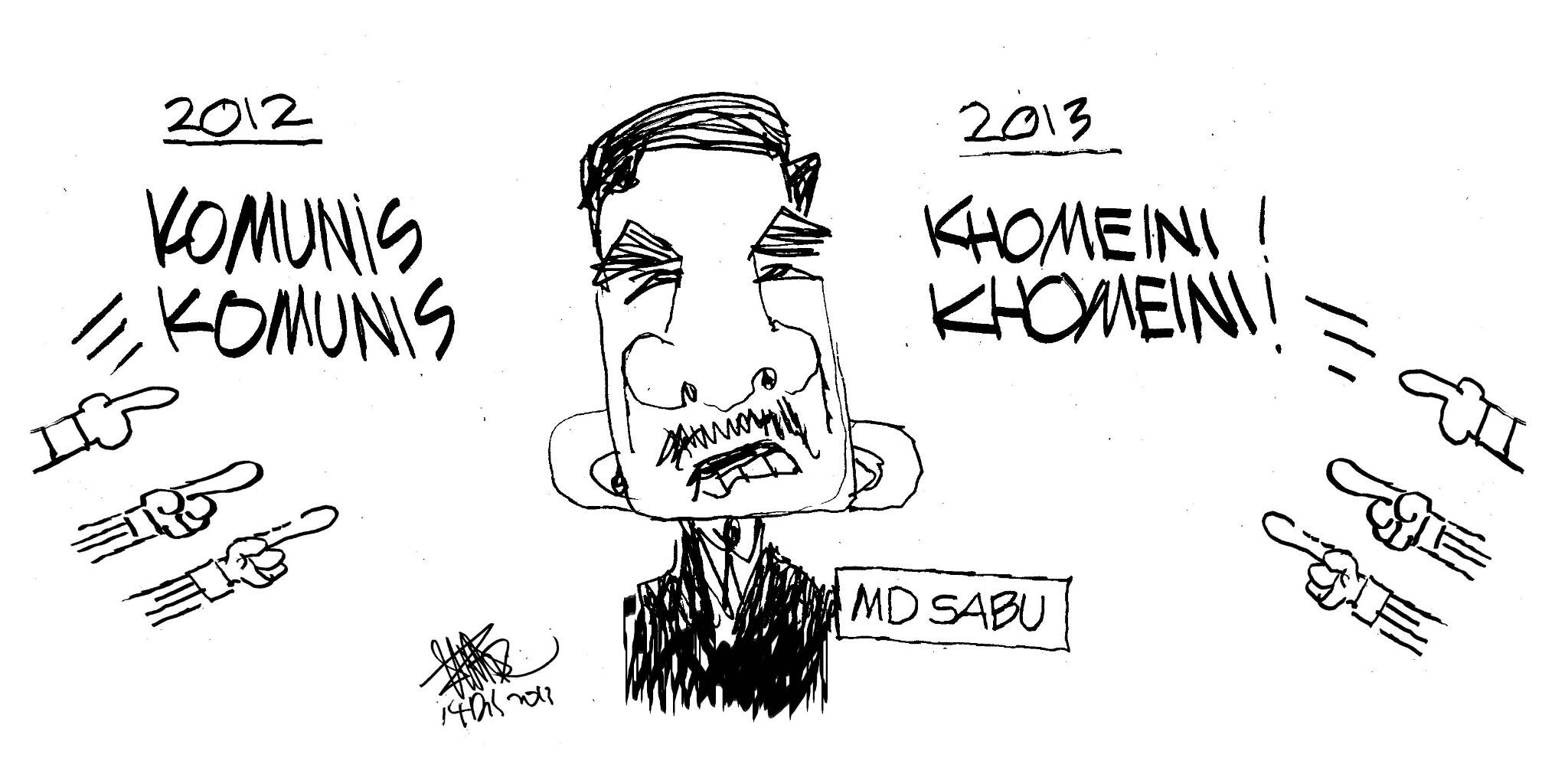 Kartun Zunar: Conteng2 sokongan moral kpd Md Sabu yg tabah http://t.co/SpNoFyG9IX