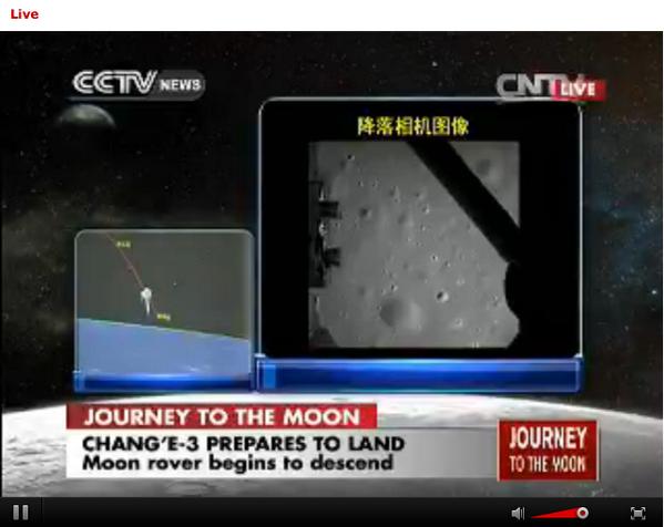 foto2 dari Bulan mulai dikirimkan oleh Chang'E. http://t.co/BkRKvBNMNI