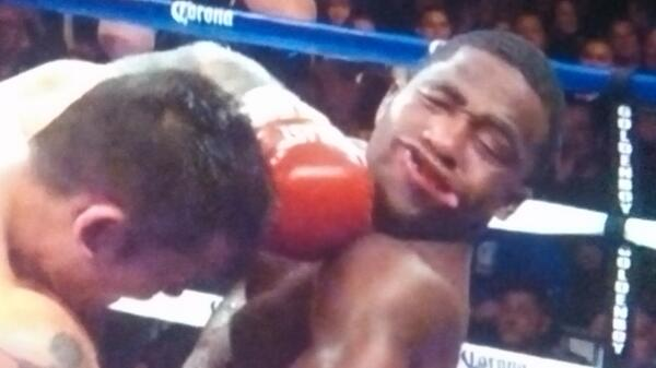 "Broner: But I'm the can man / Maidana: No ""can"" in Argentinian! http://t.co/9kEEnwWm9q"