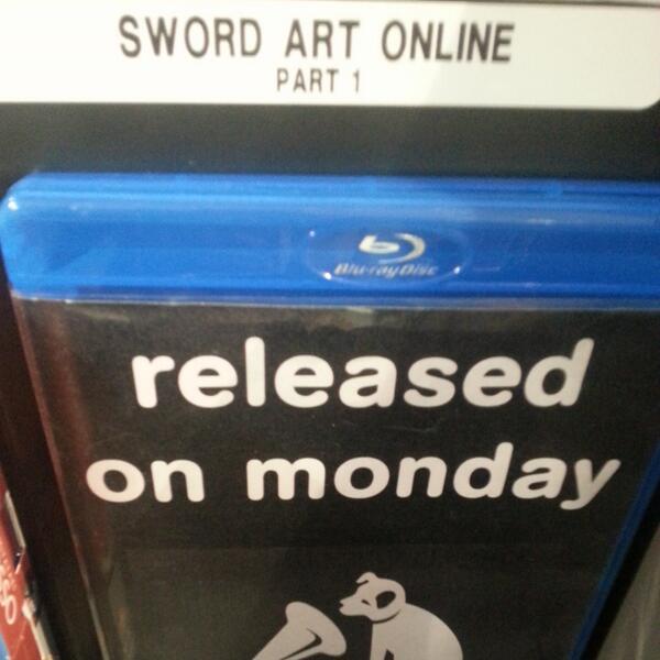 #HMV is ready! Are you?  #SwordArtOnline #SAO @MangaUK #anime http://t.co/hE58TZj0UA