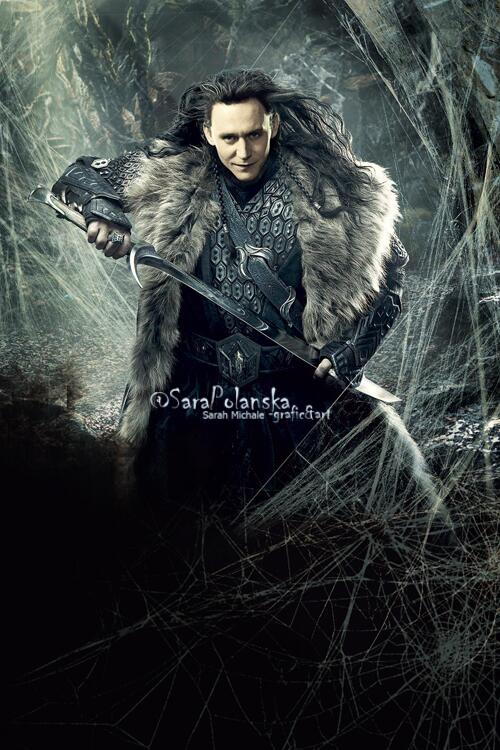 "RT @SaraPolanska: Such a quickie. We all want to #Loki has his own movie, right? So- ""Loki, King of Jotunheim"" #PhotoManip from #Hobbit http://t.co/gBfj6OYhkZ"