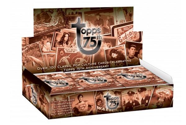 We're giving away a Topps 75th Anniversary stamped Buyback card to a random person who RTs this. #topps12daygiveaway http://t.co/gfGoCFycRj