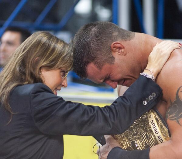 Randy Orton And Stephanie Mcmahon Photo: Old School Pic ...