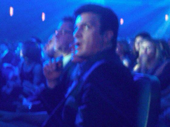 LOL, Nathan's face while watching Justin Bieber perform on the American Music Awards, 2010 #FillionSpam http://t.co/PHGAMS5aZo