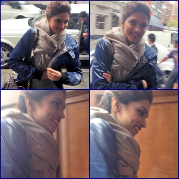 30th July 2013, #ADayWithSRK - When i met Deepika Padukone!! :D She's really pretty..and tall! ^.^ http://t.co/aXS2lgc65c