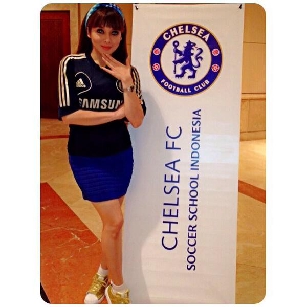 Pre-launch of Chelsea Soccer School Indonesia. @ChelseaIndo @chelseafc http://t.co/oBYgf8uph5