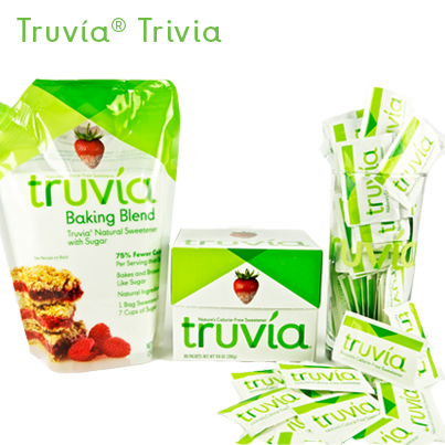 There are 5 calories per serving of #Truvia Baking Blend. RT if TRUE for a chance to win a prize pack. #TruviaTrivia http://t.co/DqTZbS1aNP