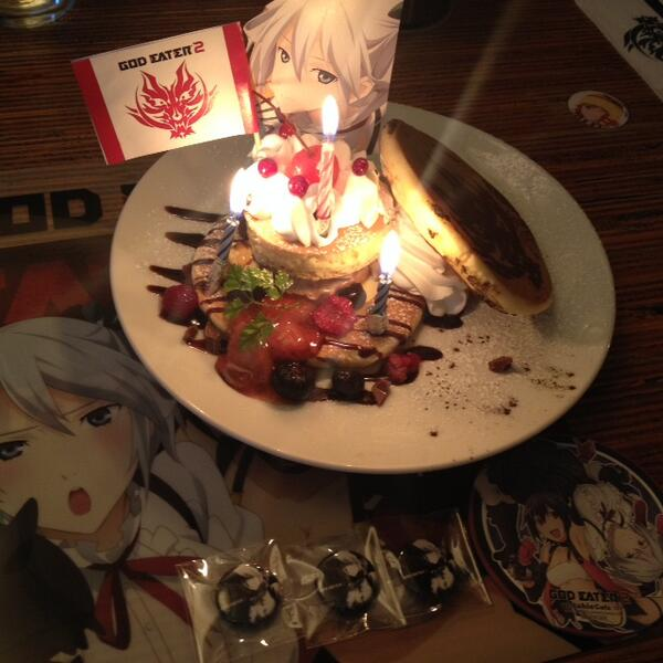 【GE2 Cafe】12/17 HAPPY BIRTHDAY★★★シエル・アランソン★★★ #ufotablecafe #GE2 http://t.co/gSXV563P5L