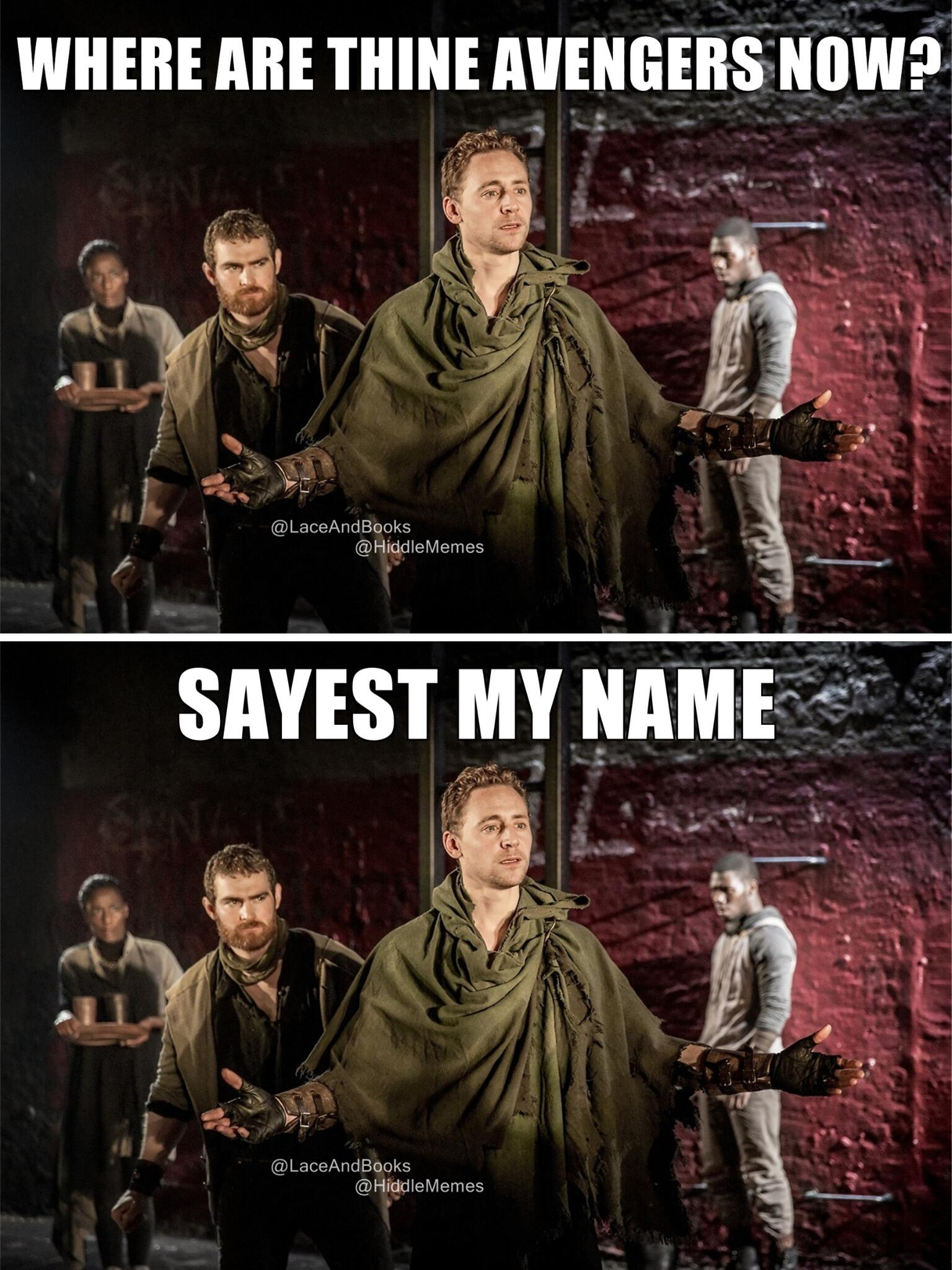 NEW MEME (Take 2): Created with @LaceAndBooks. If Coriolanus went to Comic Con