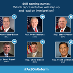 These representatives must make immigration a priority in 2014: http://t.co/16BMv54zIk #ActOnReform
