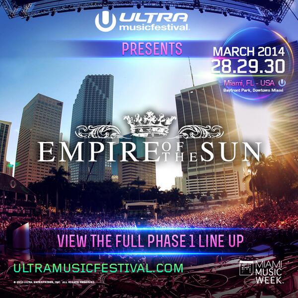 Looking forward to being a part of #Ultra2014 next year!  https://t.co/yeCKodgn4H http://t.co/s5yFPQUUns