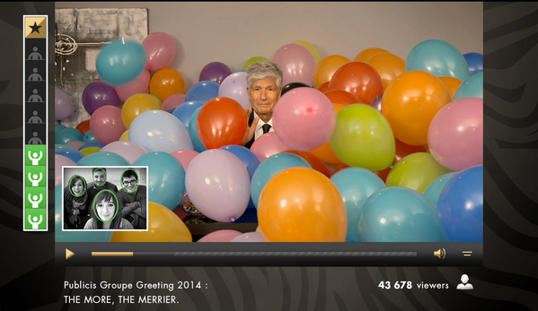 It takes 1487 balloons to cover Maurice Lévy. #FACT. http://t.co/BhoiETqHaI #TheMoreTheMerrier http://t.co/HxhEiAbEPj