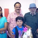 So proud to watch #Thalaimuraigal with.Legendary director Balu Mahendra sir (now a super actor also). Loved the film