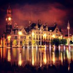 Atmospheric night shot by Strif Aaron. #citypark bd #bradford http://t.co/sN4oFQNe9J