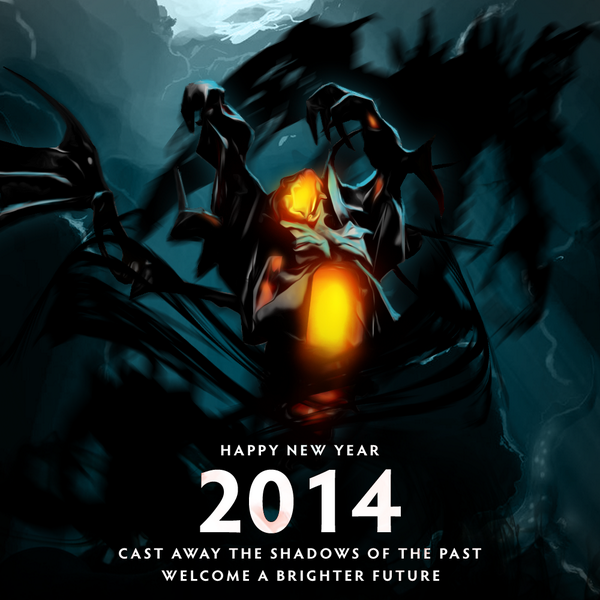 cast away the shadows of the past dota2