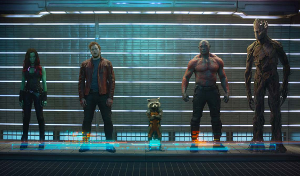 GROOT! RT @ErikDavis: Disney just dropped this official image from Marvel's GUARDIANS OF THE GALAXY, yo! http://t.co/dxpjteiGwt