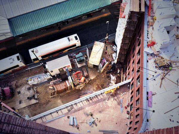 """Dazzling view! """"@merimac713: View from the roof! Getting at it in #DudleySquare #Boston #Roxbury @SasakiDesign http://t.co/UD3jckQsdk"""""""