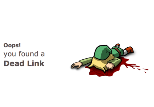Aw, so sad. RT @joepie91: Best 404 page image ever. http://t.co/jxUwMJug1w