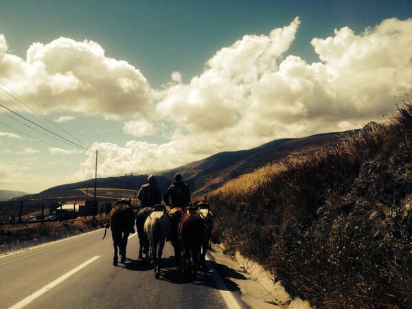 Despidiendo el año con un recorrido por la cordillera de Los Andes http://t.co/8ZViNxip43