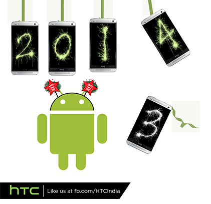 Happy New Year to our lovely fans, have an awesome 2014 ahead with your Handy Trusted Companion #HTCOne! :) #htc2014 http://t.co/XuNfPvEaIp