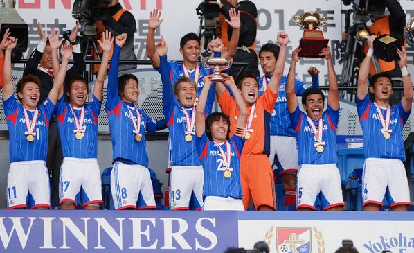 天皇杯を優勝した横浜F.マリノス : 監督以外は天皇杯優勝を ...