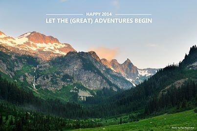 Happy 2014 you crazy wonderful bunch of hikers, ramblers, runners, campers, climbers and adventurers. http://t.co/m8koNn1E2t