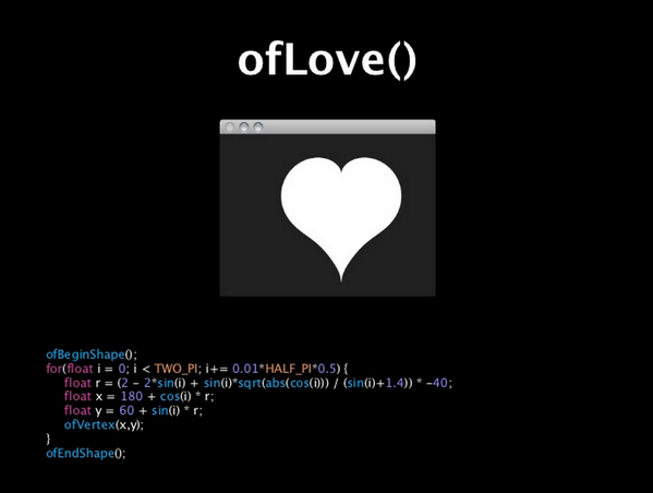 "RT @tchoi8: ""hope you find the nerdiest heart in 2014"" image via @motoishmz @openframeworks http://t.co/fSIGVWzQDR"