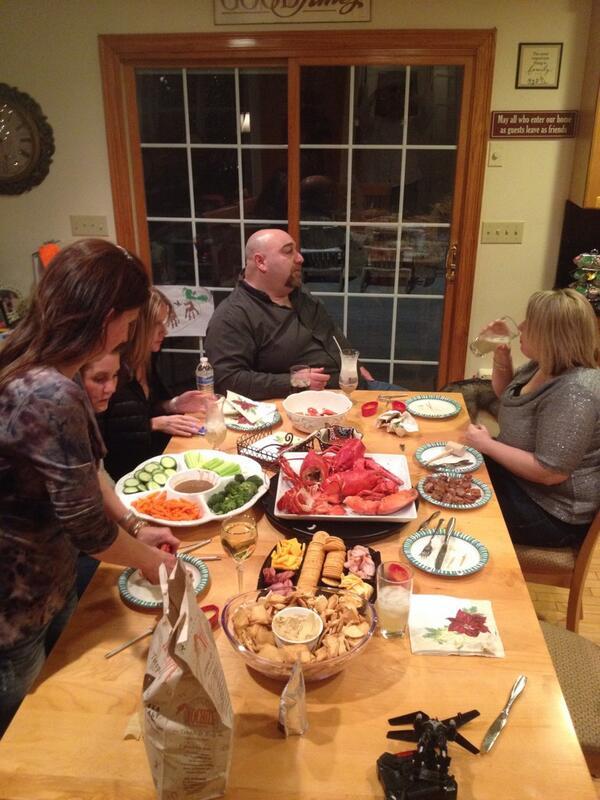 Chris (@CRRCDriver): Rang in the New Year with a show by Tom Cotter and back to the house for lobster and booze. http://t.co/cVO5Bxx4QR
