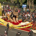 Image of roseparade from Twitter