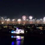 The record breaking fire works in Dubai last night. http://t.co/VKg1yYpdh4